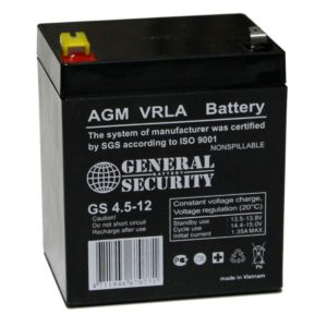 Аккумуляторная батарея АКБ GS 12-4,5