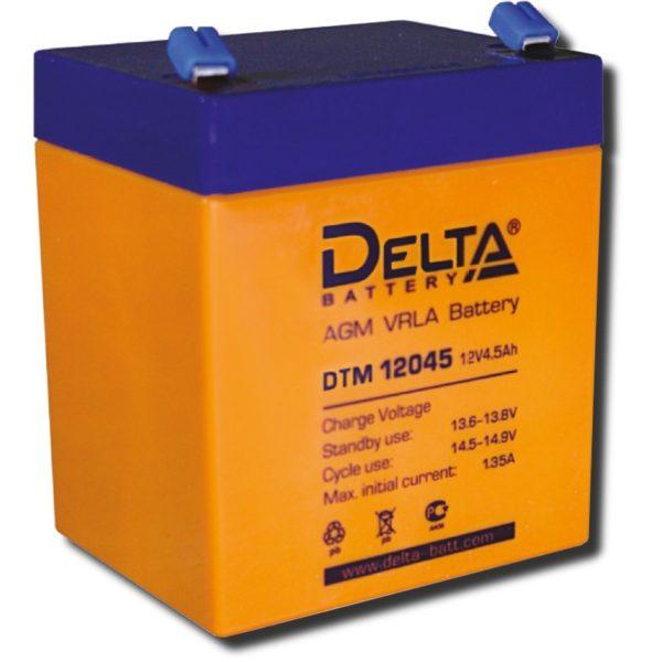 Аккумулятор Delta 12В для сигнализации