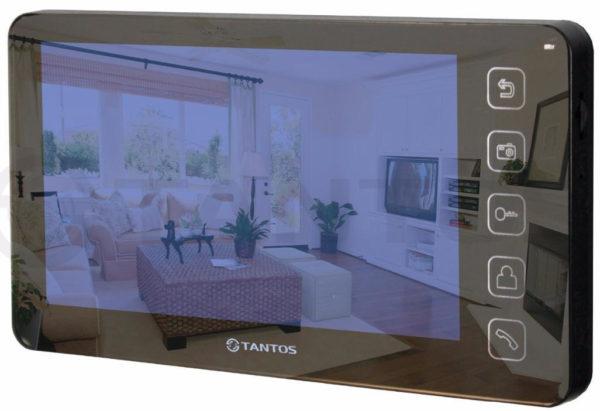 Видео монитор для домофона Prime SD (Mirror) black
