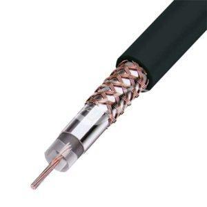Коаксиальный кабель RG-59 черный