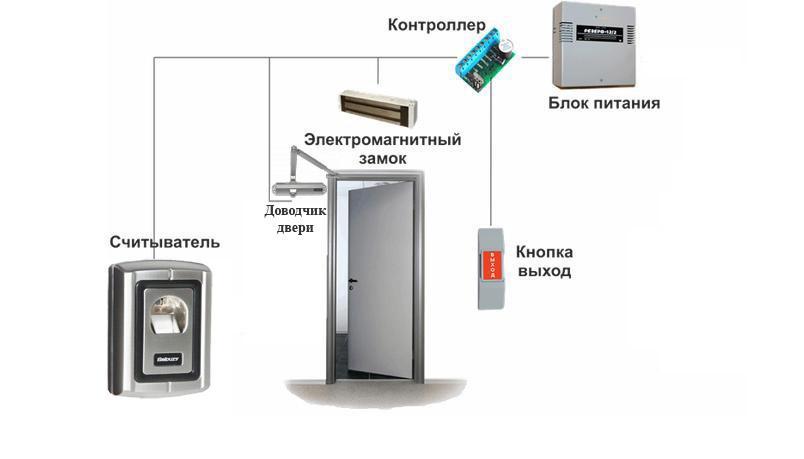 Биометрический считыватель отпечатков пальцев