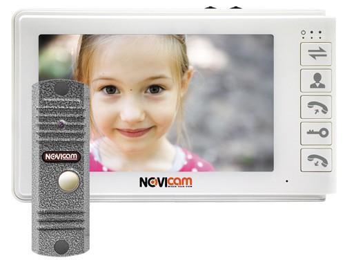 Комплект видеодомофона SMILE 7 KIT