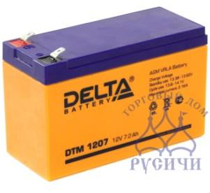 АКБ DTM 1207