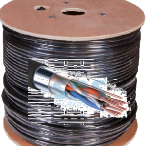 FTP 4PR 24AWG CAT5e 305м OUTDOOR PROCONNECT (01-0154)